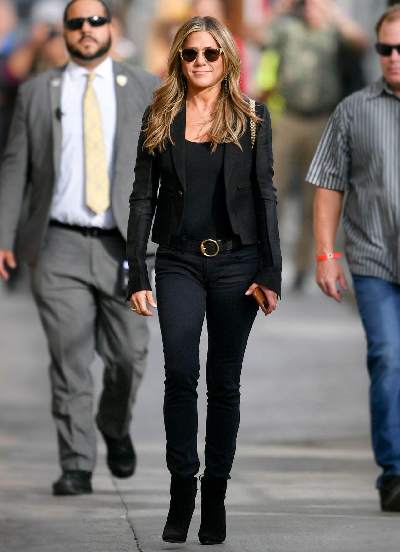 Jennifer Aniston w codziennej stylizacji.