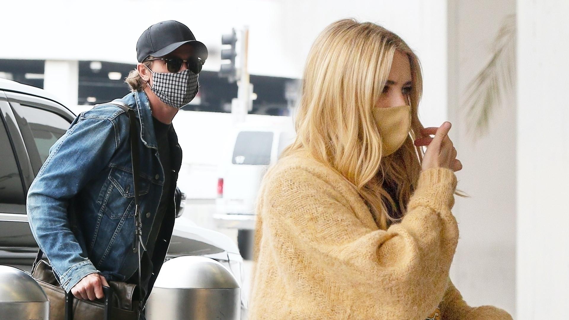 Emma Roberts przyłapana na lotnisku. Na nowych zdjęciach widać CIĄŻOWE krągłości?