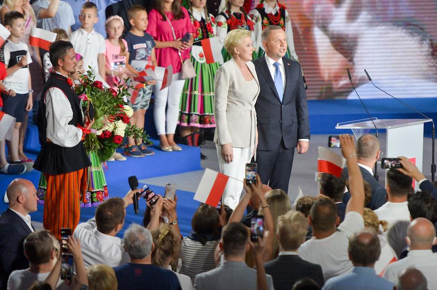 Agata Kornhauser-Duda, Andrzej Duda, fot. Niemiec/AKPA