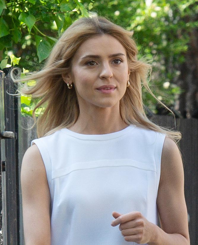 Kasia Tusk w drodze na wybory