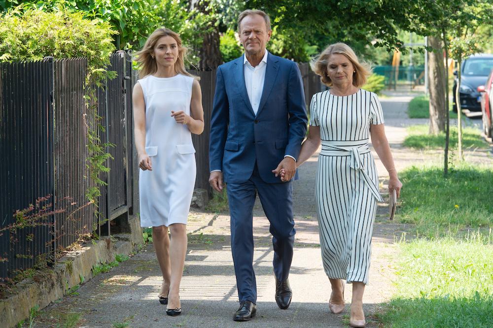 Kasia Tusk, Donald Tusk i Małgorzata Tusk