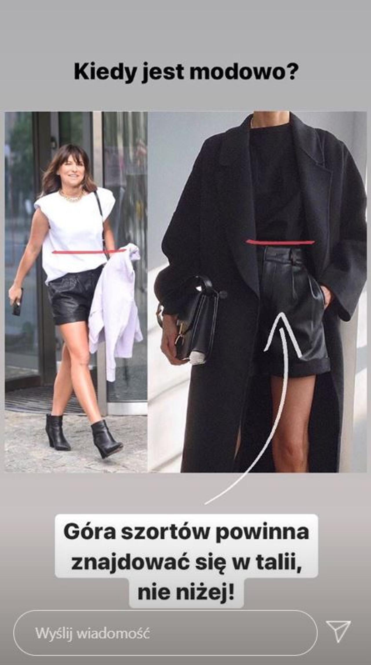 Stylistka ocenia ubiór Anny Lewandowskiej.