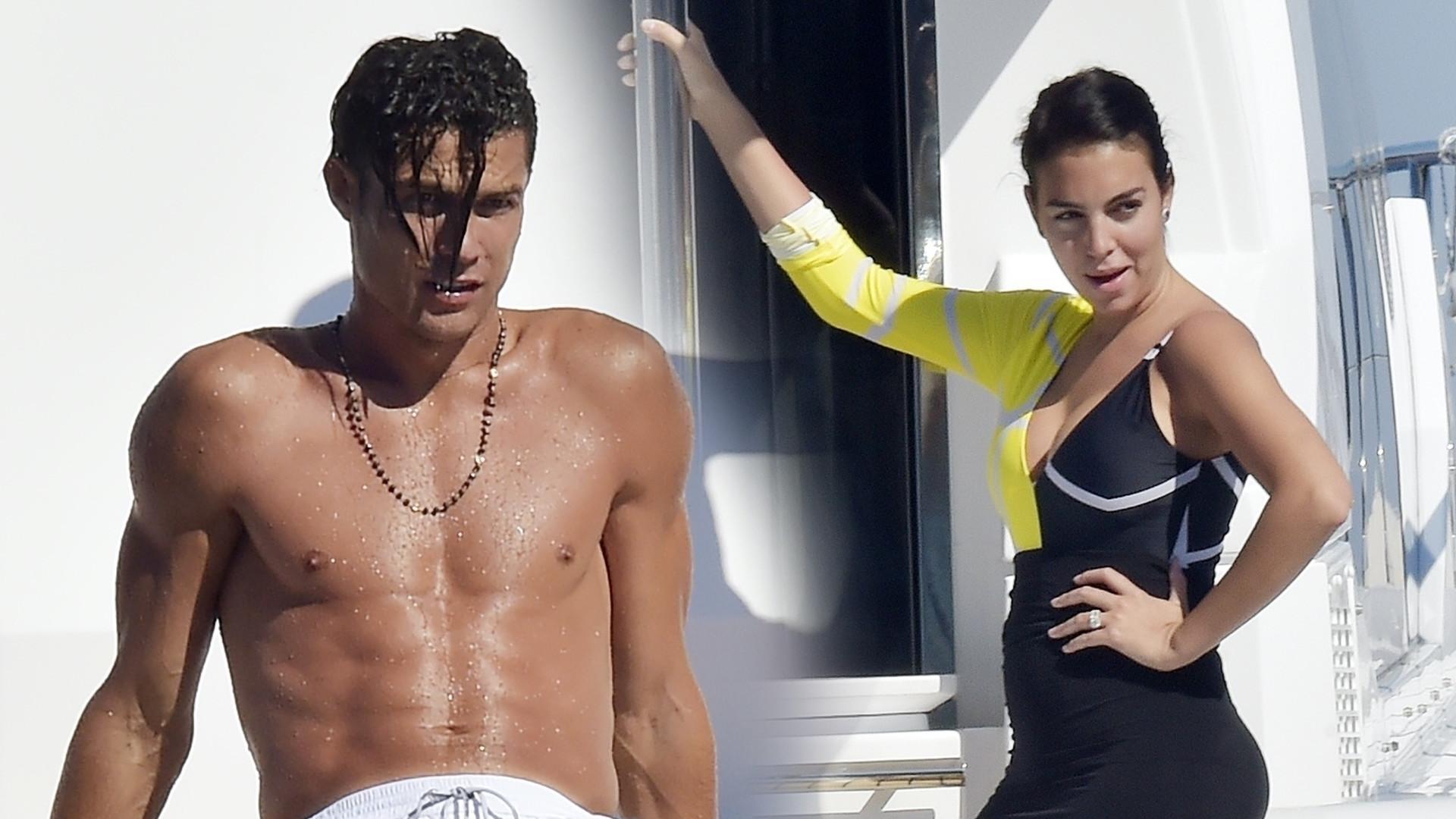 Cristiano Ronaldo odpoczywa na luksusowym jachcie z Georginą Rodriguez (ZDJĘCIA)