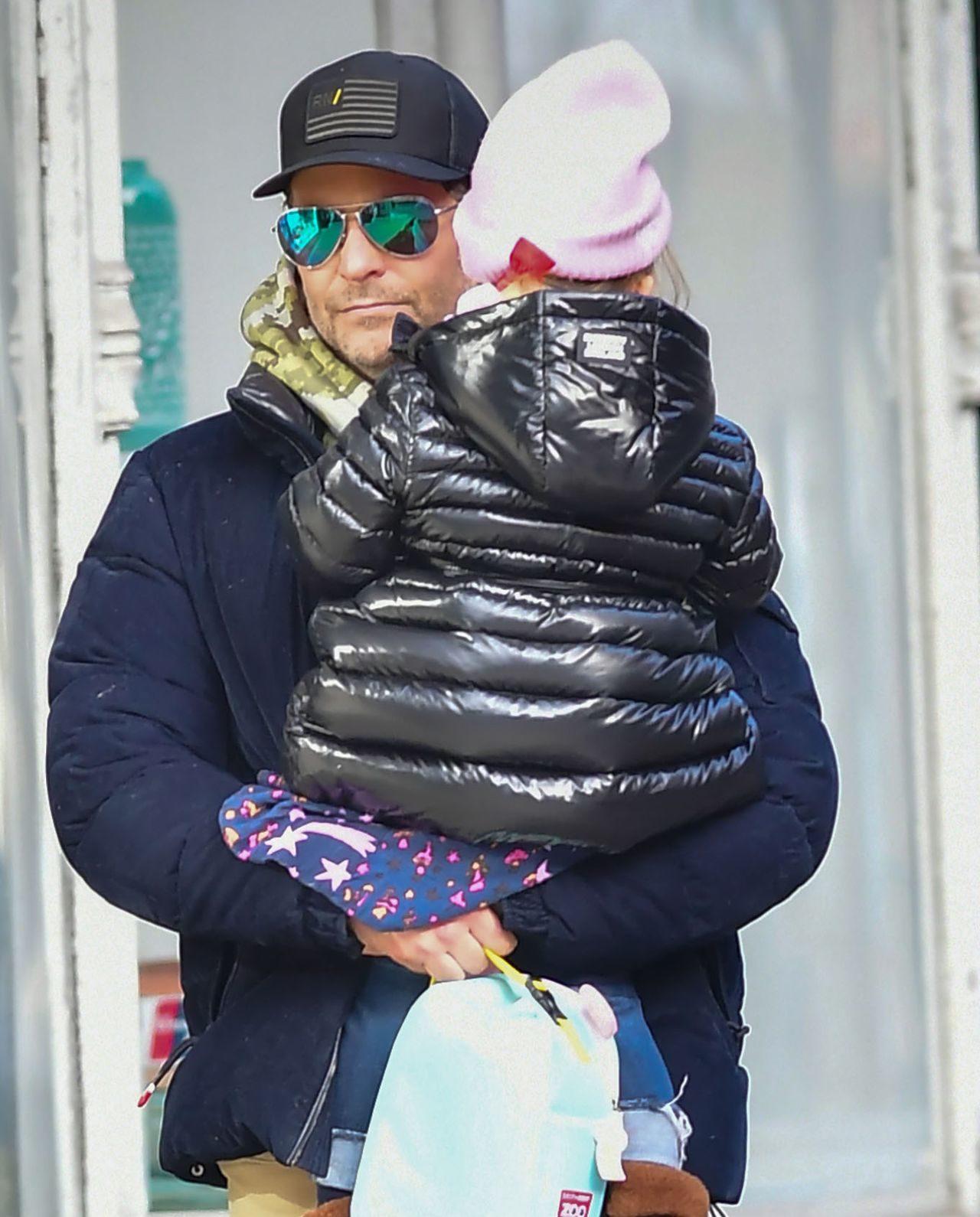 Bradley Cooper z córką.