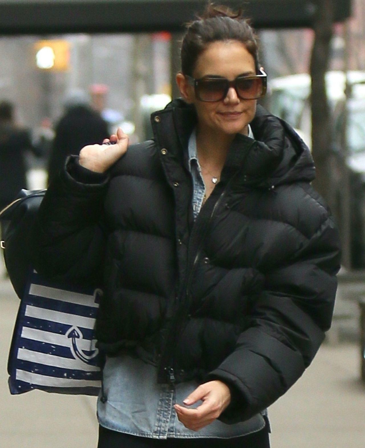 Katie Holmes na ulicach Nowego Jorku.
