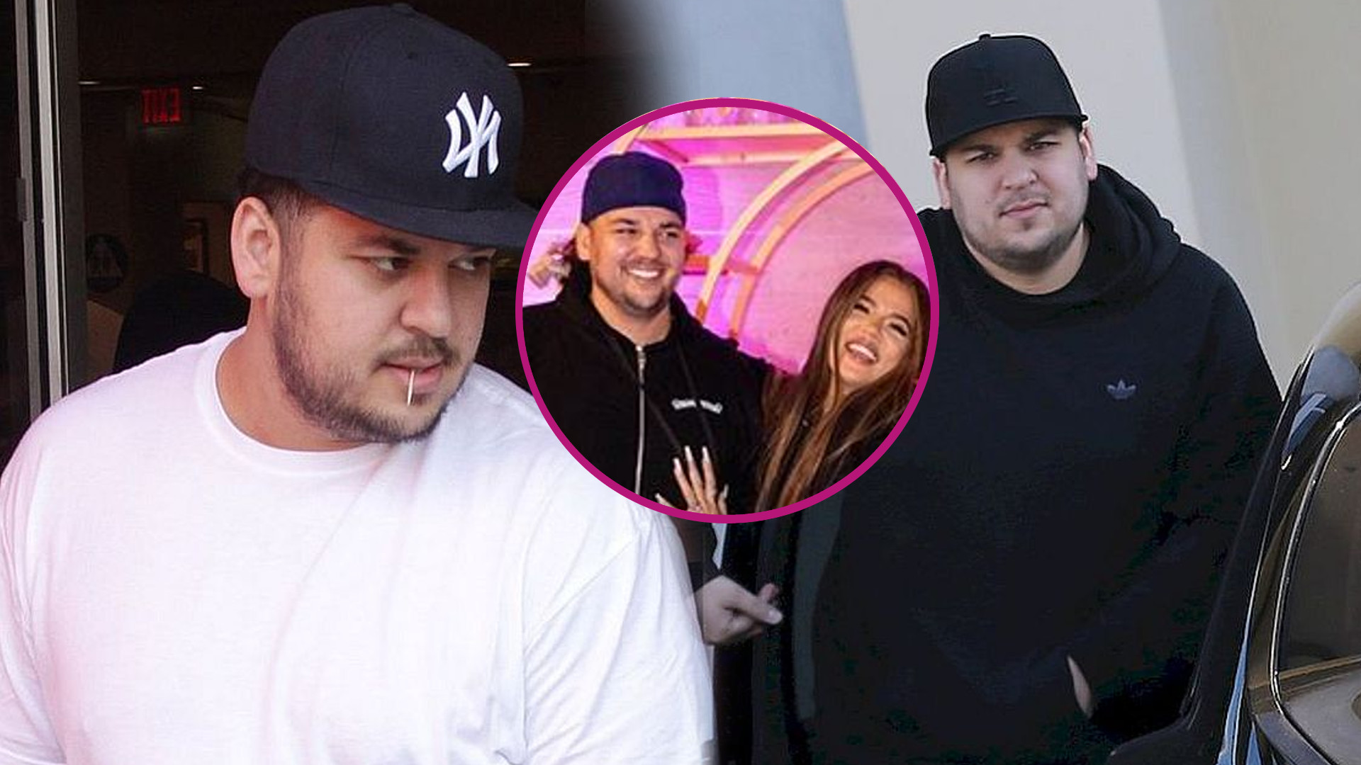 Rob Kardashian pokazał się na urodzinach Khloe. Schudł i wygląda ŚWIETNIE!