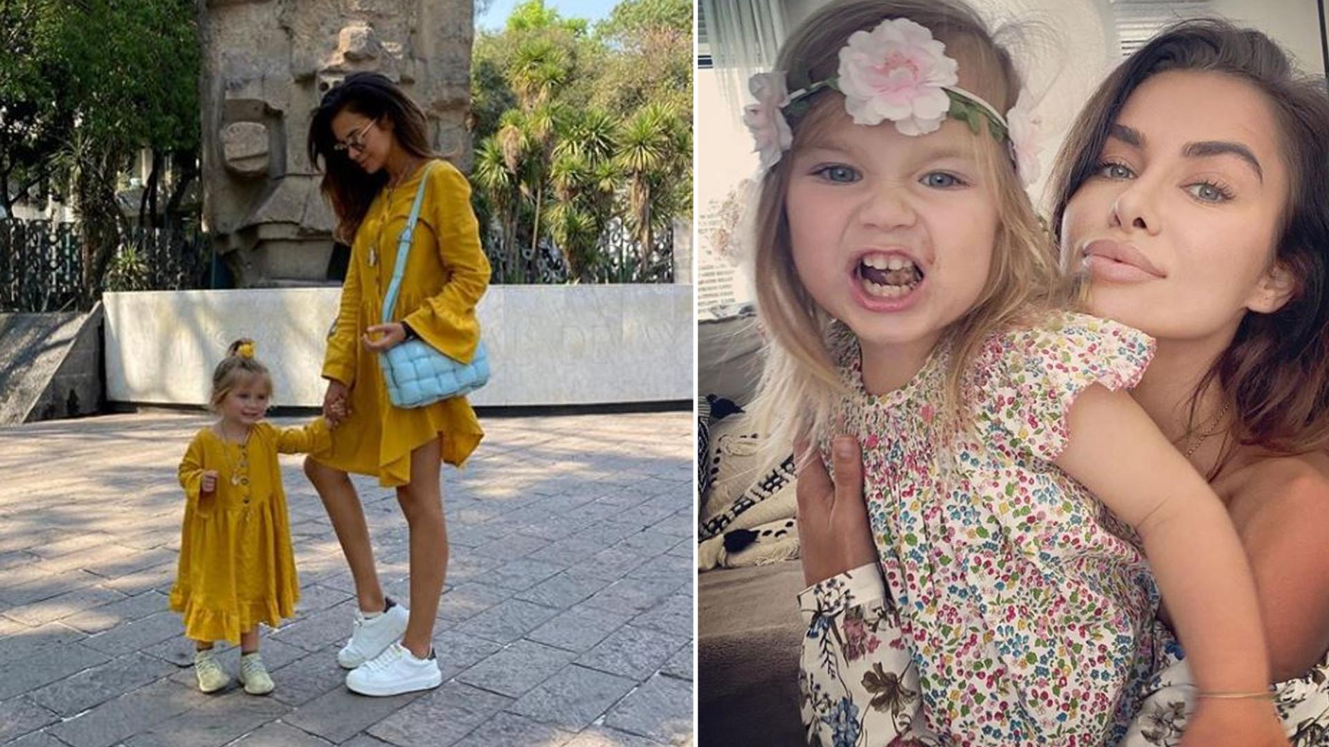 Natalia Siwiec pokazała córkę w ozdobnej sukience – fani uznali, że Mia wygląda staromodnie