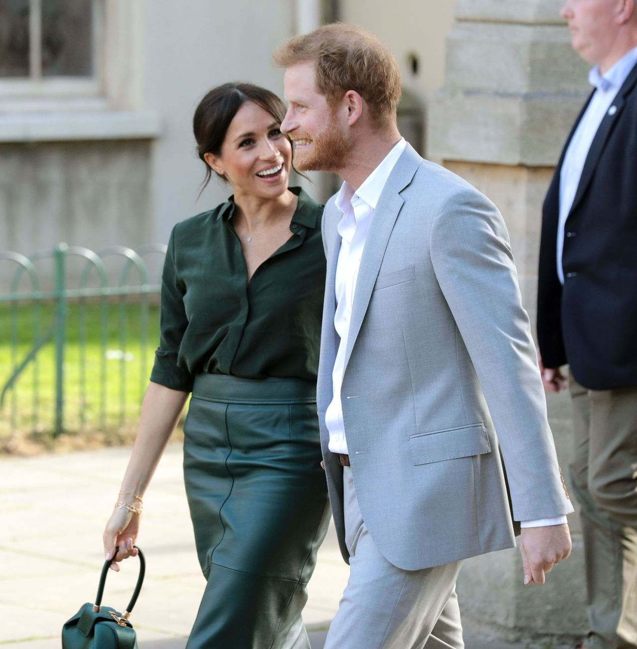 Meghan Markle z księciem Harrym