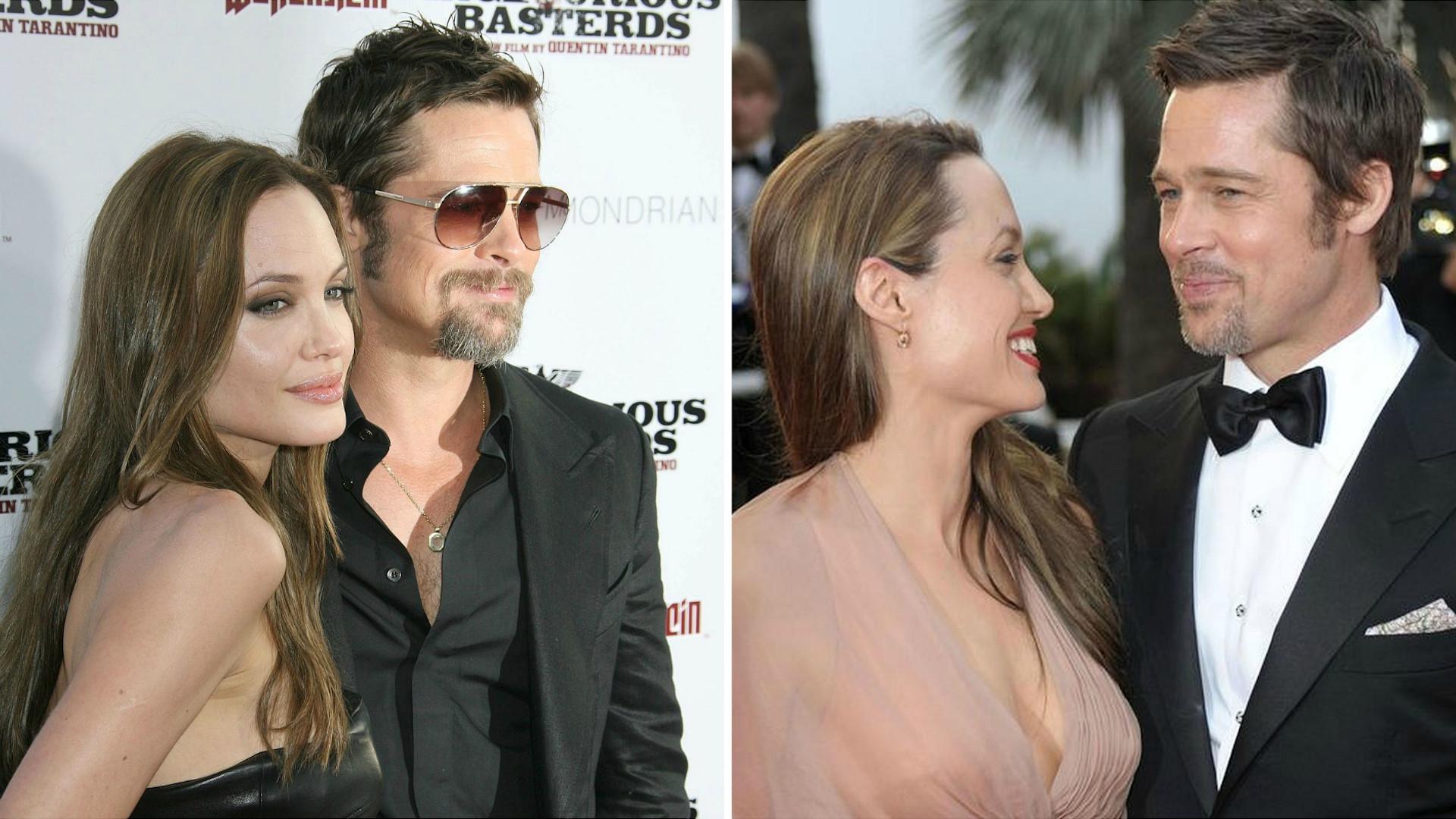 Brad Pitt spędził dwie godziny w domu Angeliny Jolie! Są przypuszczenia, dlaczego ją odwiedził