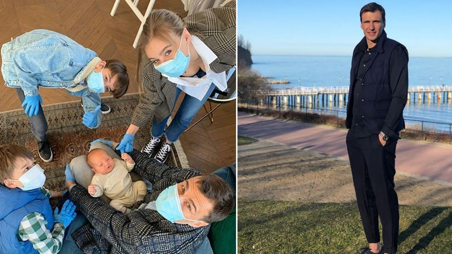 Jarosław Bieniuk pokazał na Instagramie śpiącego syna – chłopczyk rośnie jak na drożdżach