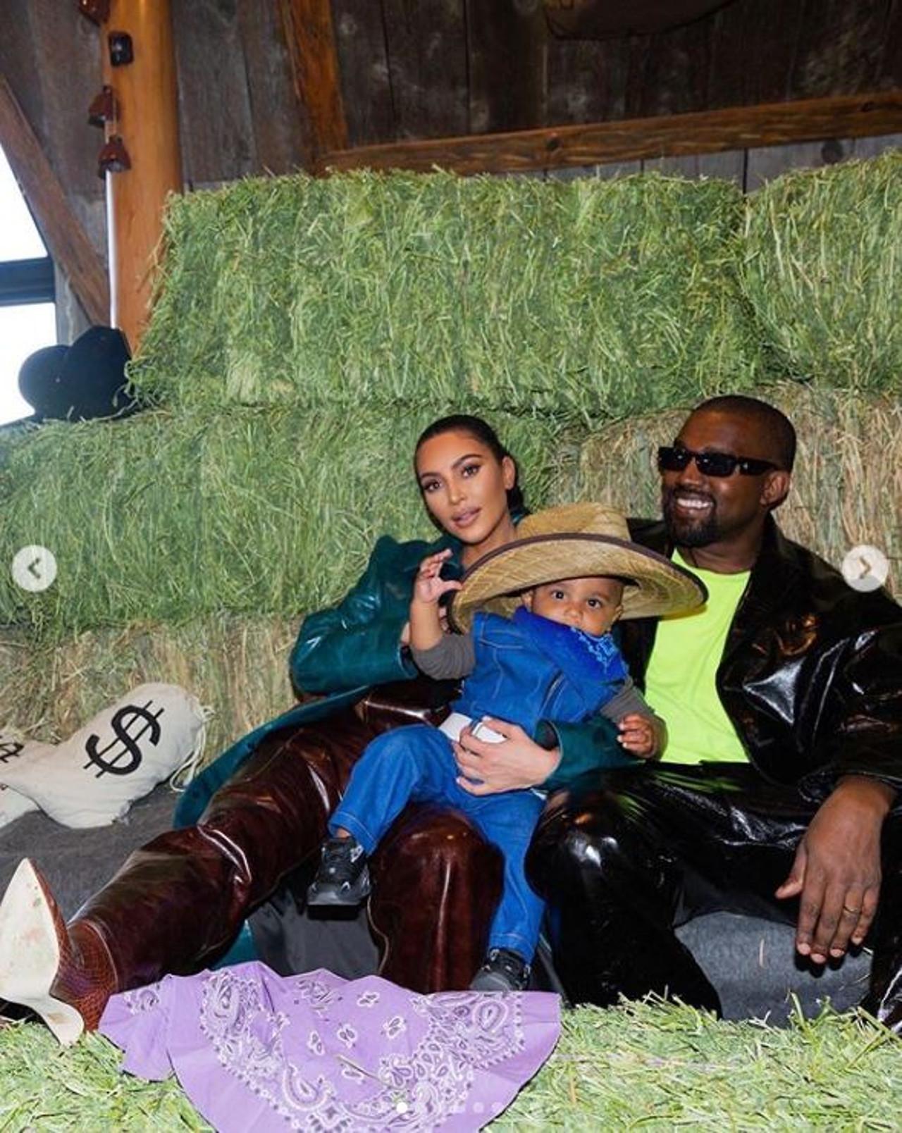 Kim Kardashian zorganizowała córce urodziny.