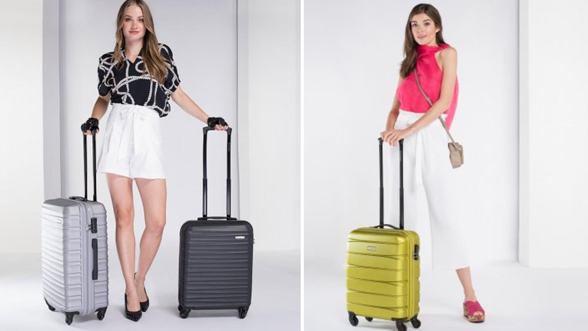 Wybierasz się na urlop? Spraw sobie najmodniejszą walizkę w MEGA niskiej cenie