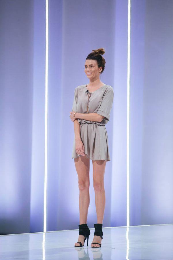 Magdalena Stępień Kolesnikow na castingu do Top Model, fot. mat. prasowe TVN