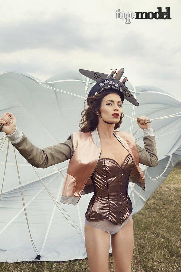 Magdalena Stępień Kolesnikow w Top Model, 2015 rok, 5. edycja show. Fot. mat. prasowe TVN