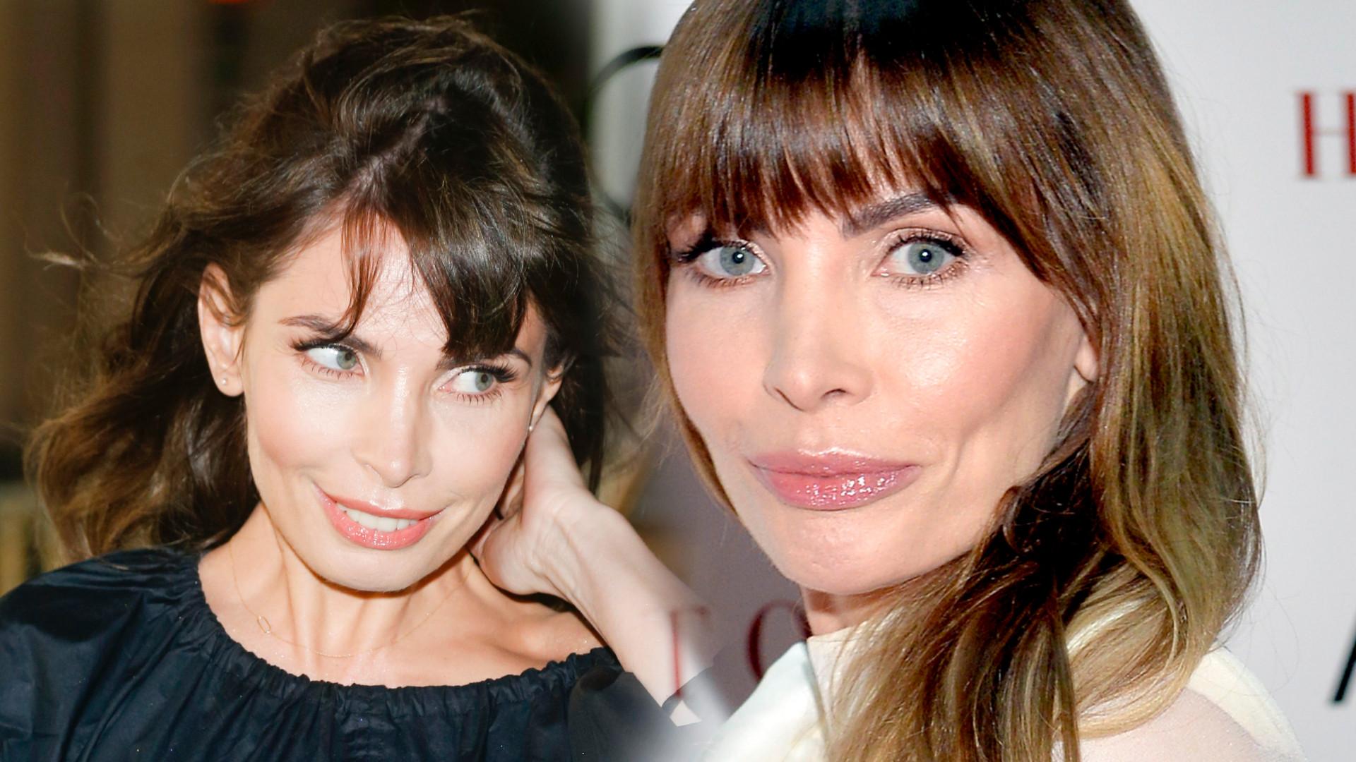 Agnieszka Dygant ma swój sposób na efektowny look bez makijażu