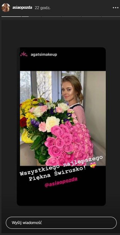 Urodziny Joanny Opozdy, fot. InstaStory aktorki