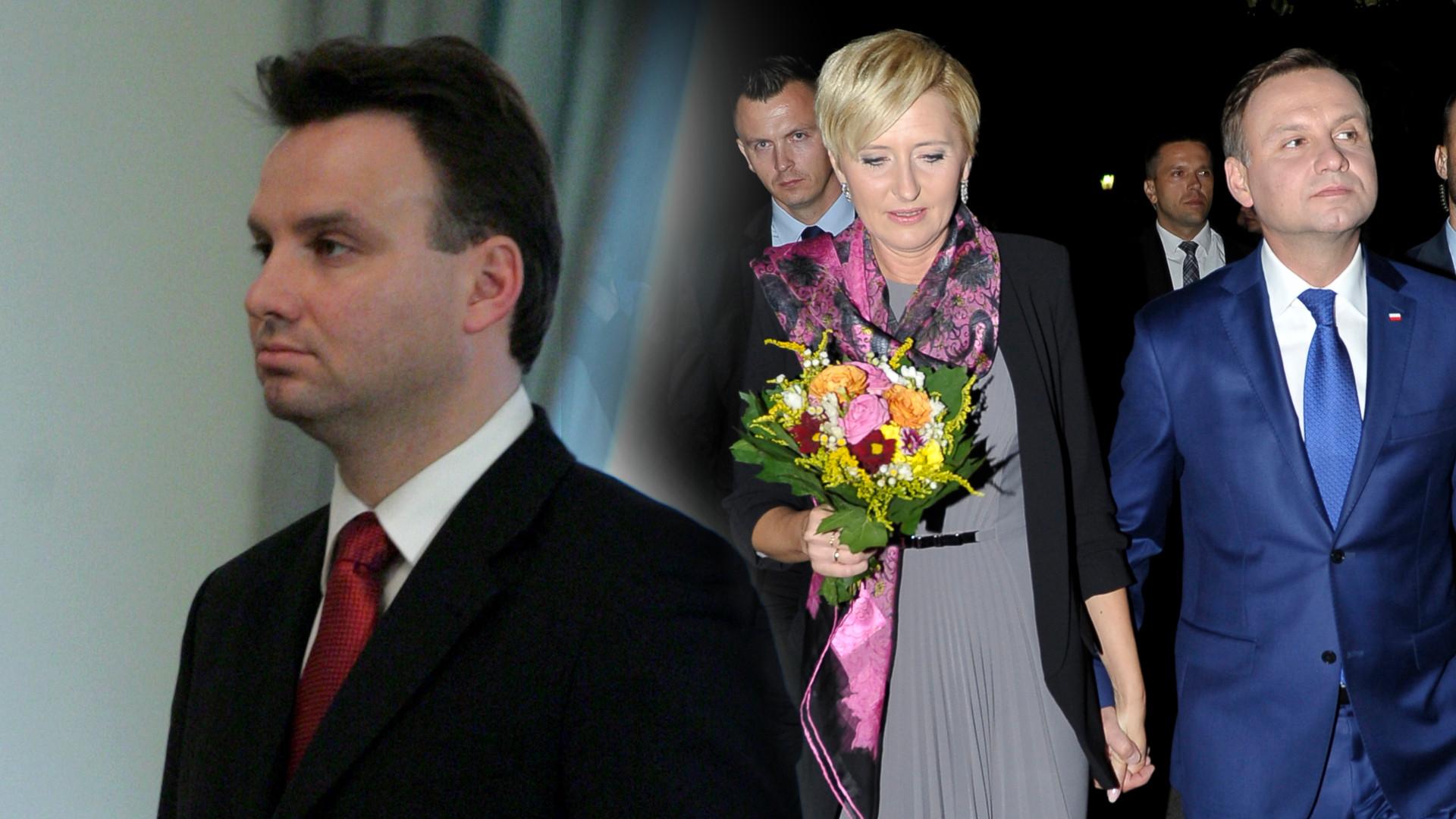 Dawna fryzura prezydenta i nudne garsonki Agaty Dudy – jak wyglądali Andrzej Duda i jego żona kilka lat temu? (ZDJĘCIA)