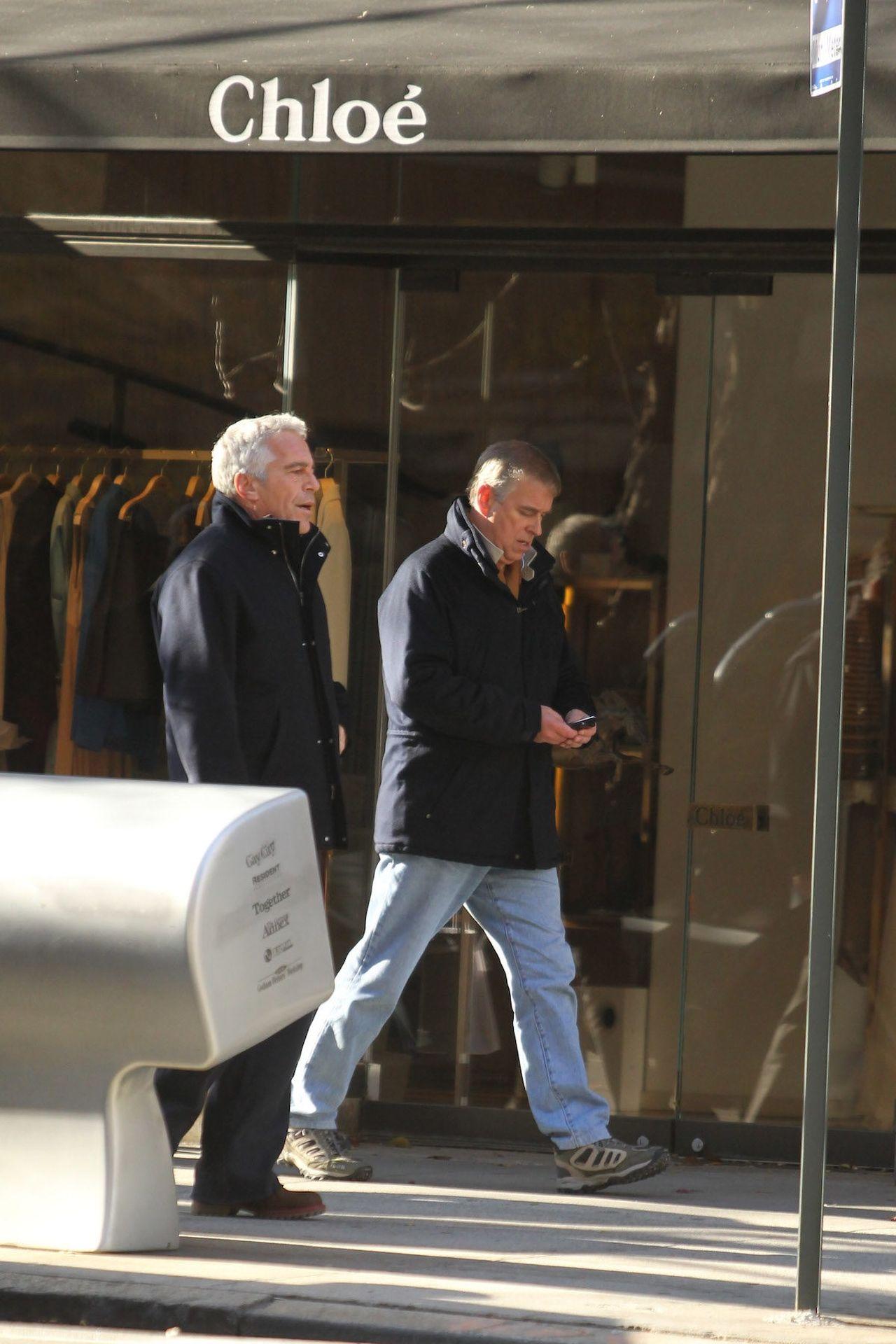książę Andrzej, Jeffrey Epstein na ulicy
