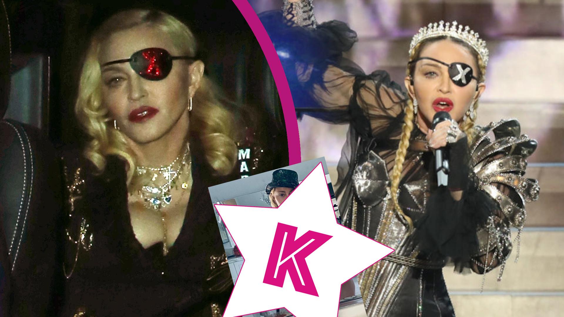 61-letnia Madonna topless opiera się o kule ortopedyczne. Na jej profilu pojawiają się ostatnio odważne zdjęcia
