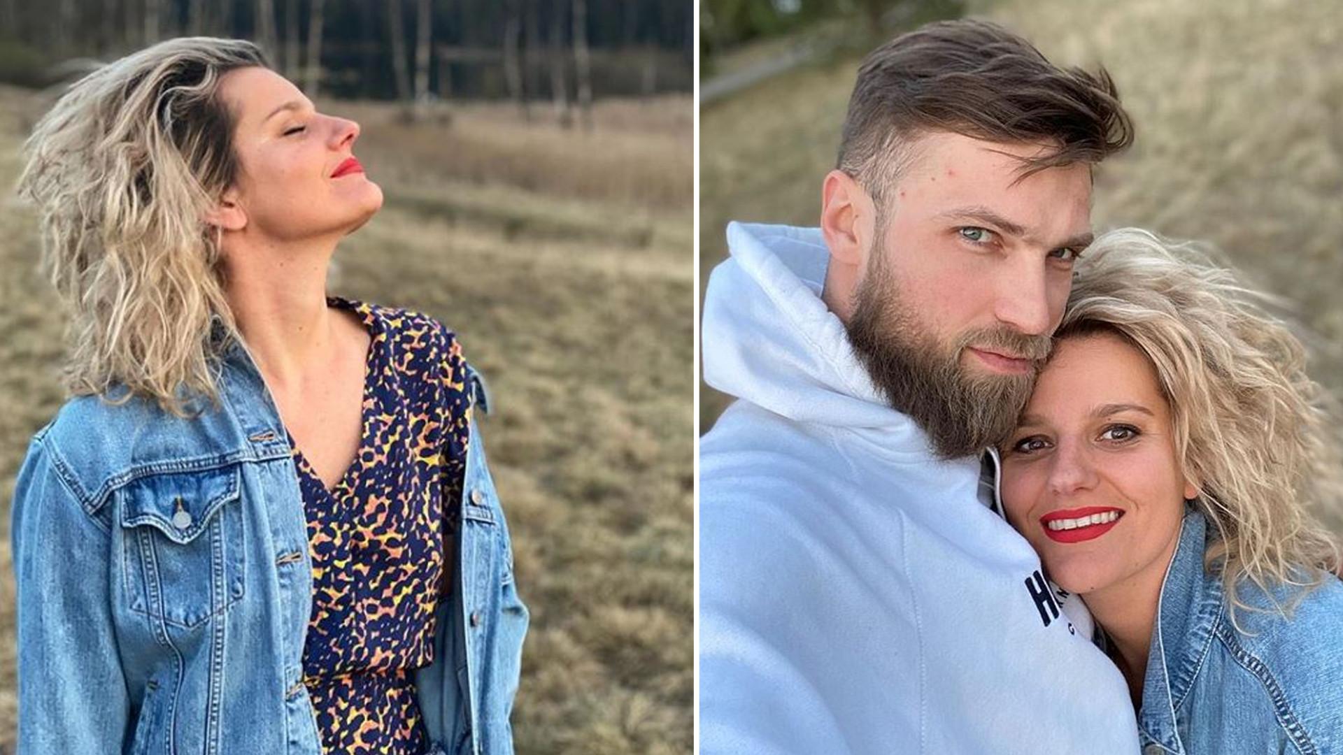 Zosia Zborowska z mężem w jacuzzi. Aktorka dawno nie publikowała tak odważnych zdjęć