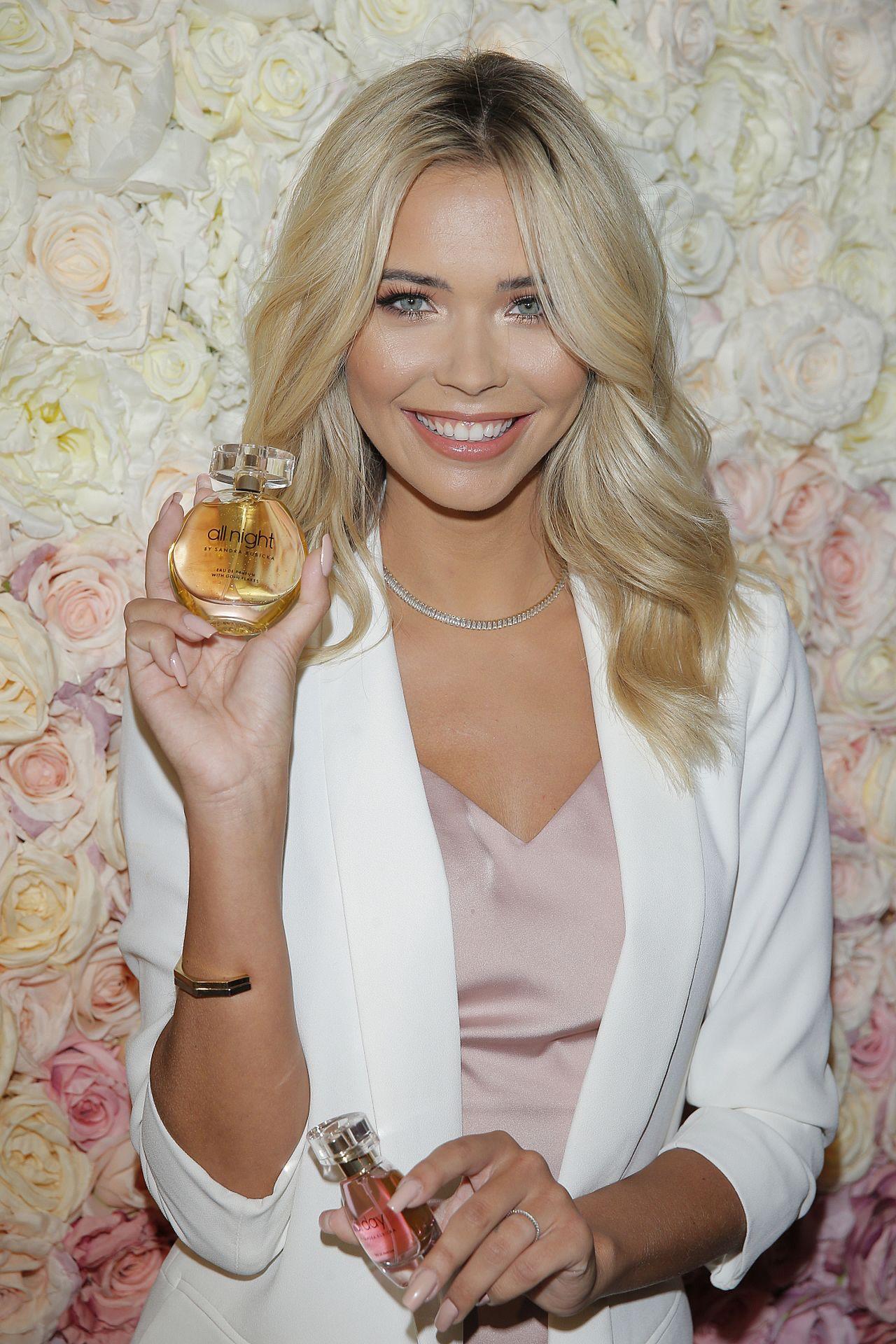 Sandra Kubicka promuje swoje perfumy