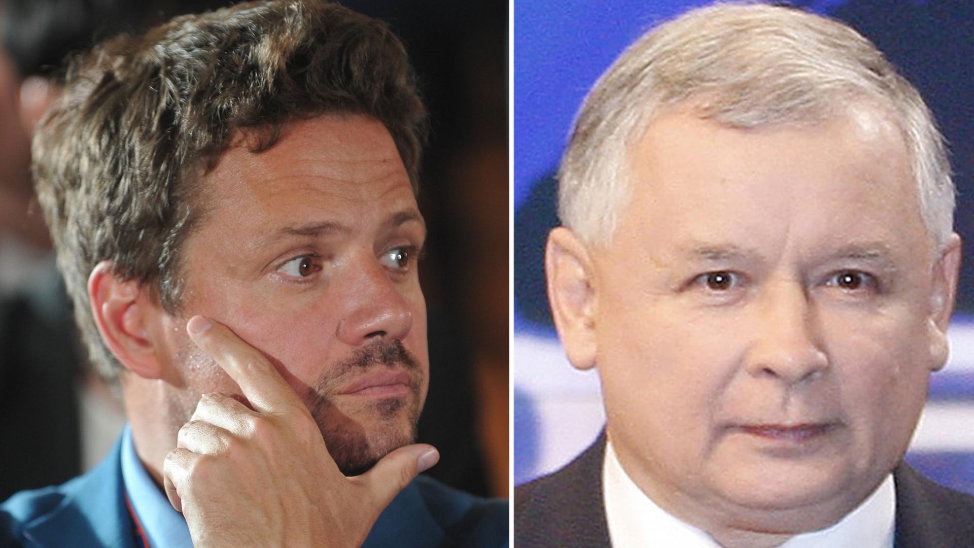 Wzrost Rafała Trzaskowskiego zaskoczył wyborców. Polityk zażartował z TVP, które odjęło mu 10 cm