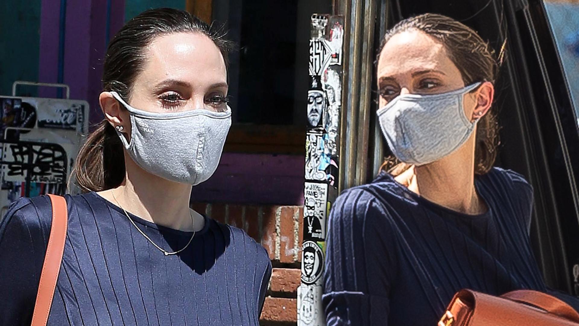 Angelina Jolie nawet na zakupach wygląda STYLOWO. W tej kreacji mogłaby iść na czerwony dywan