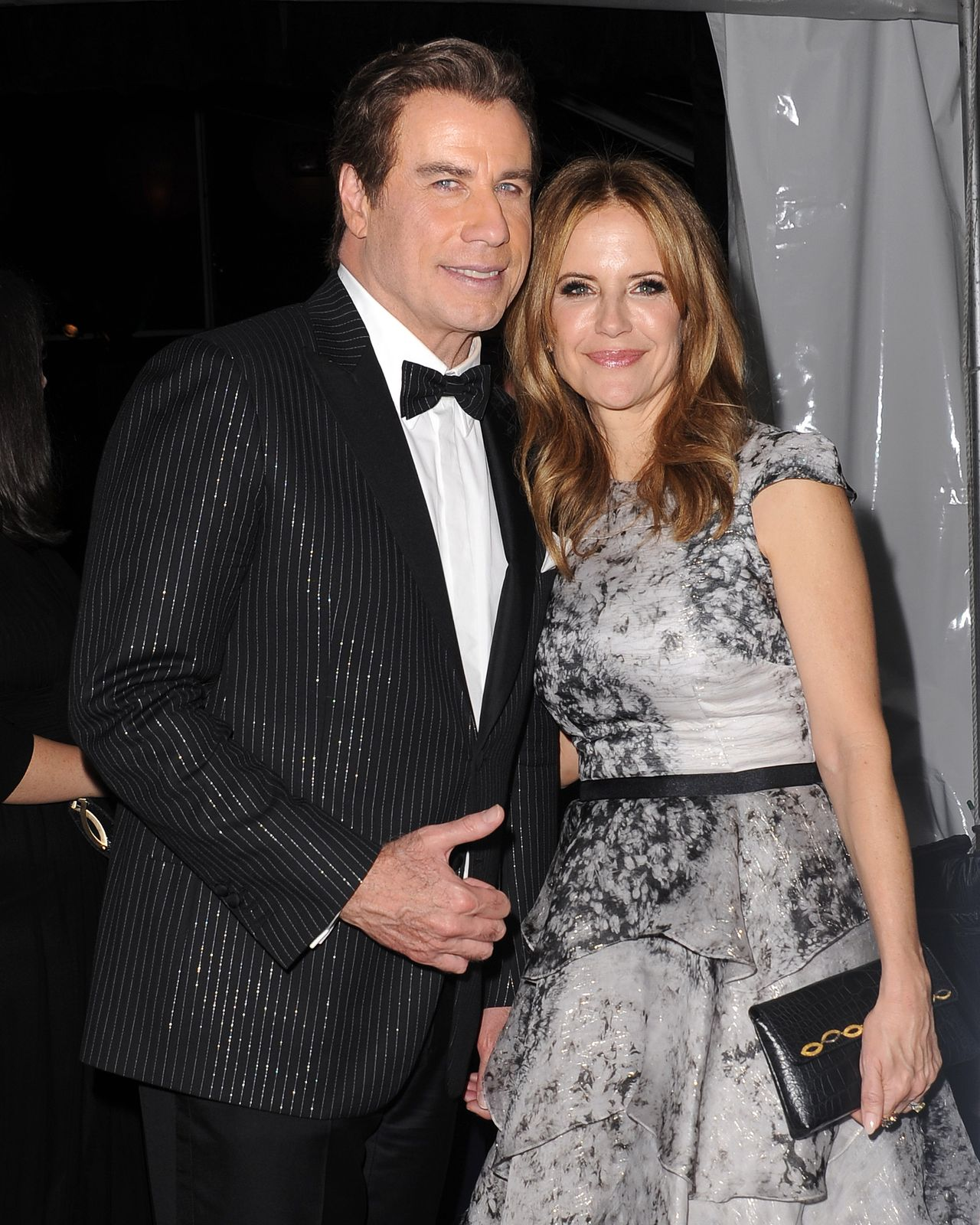 John Travolta, Kelly Preston na ściance