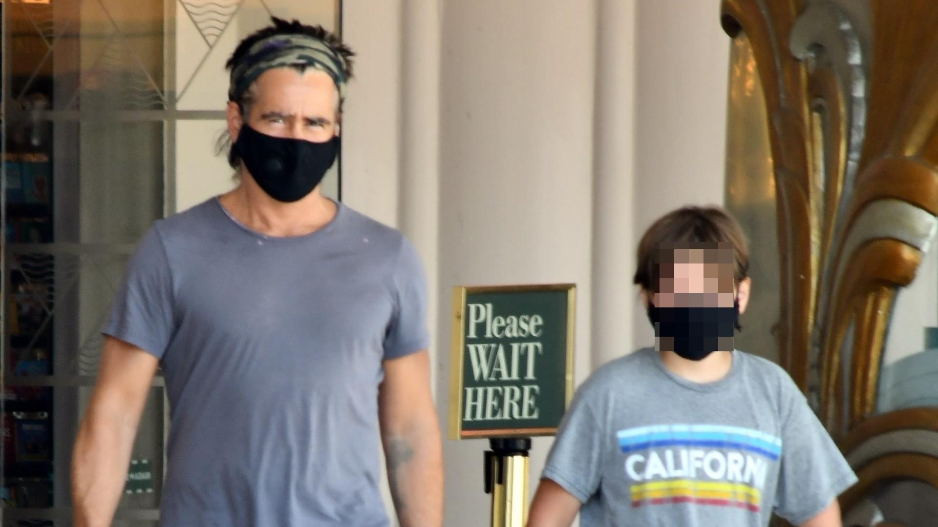 Colin Farrell z synem Henrym w księgarni. Jaki to już duży chłopiec! (ZDJĘCIA)