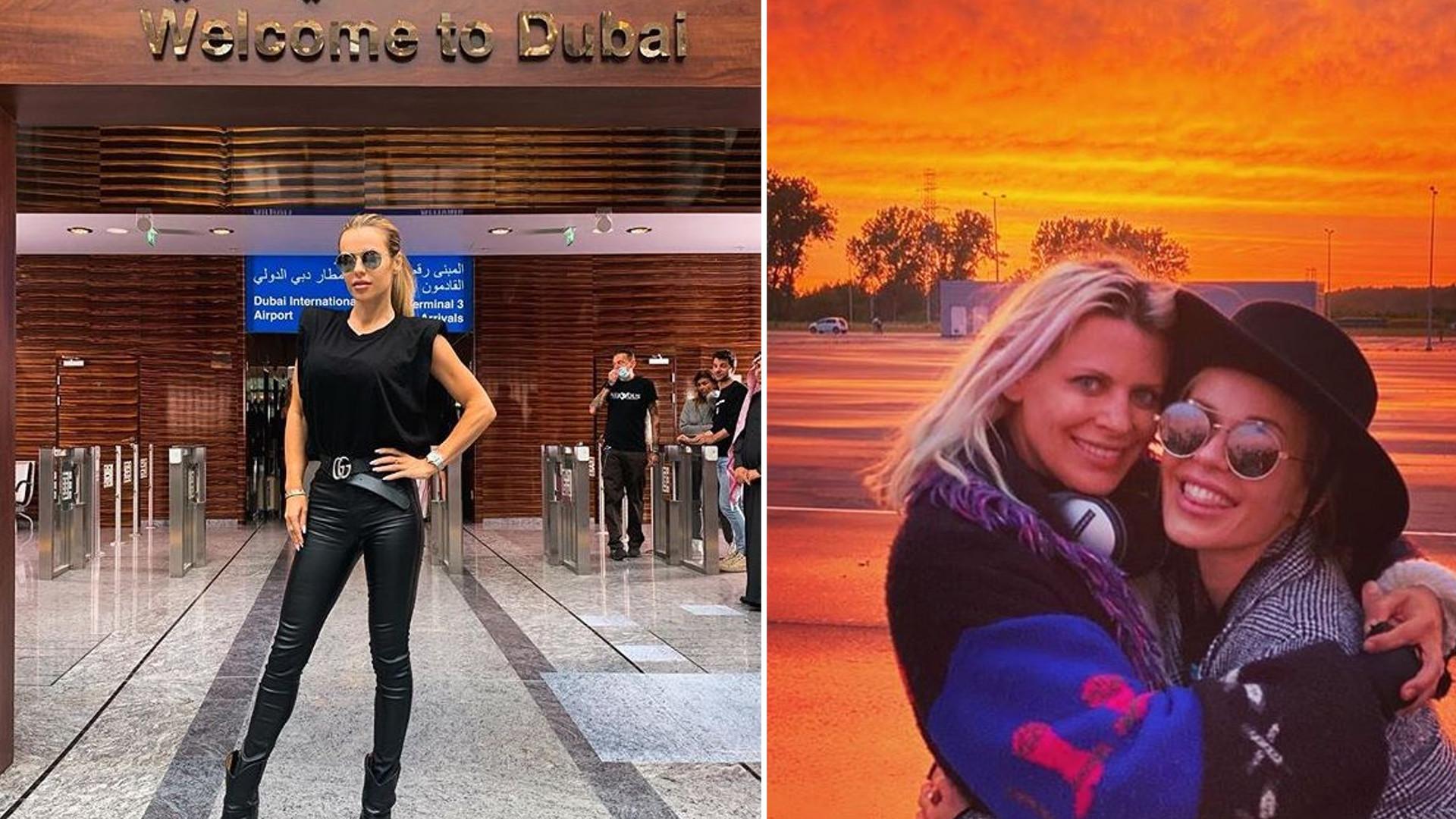 Doda i Maria Sadowska szaleją w Dubaju. Na lotnisku nikt nie mógł oderwać od nich wzroku