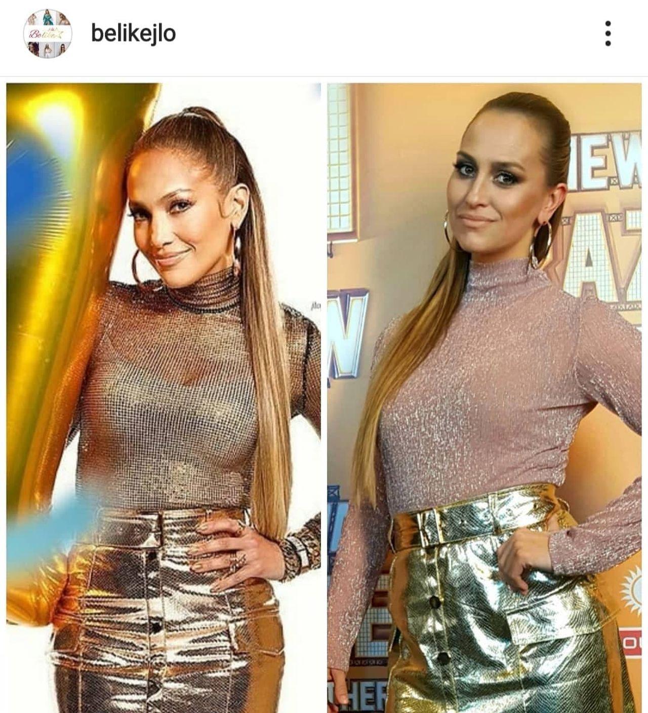 Jennifer Lopez ma w Polsce sobowtórkę
