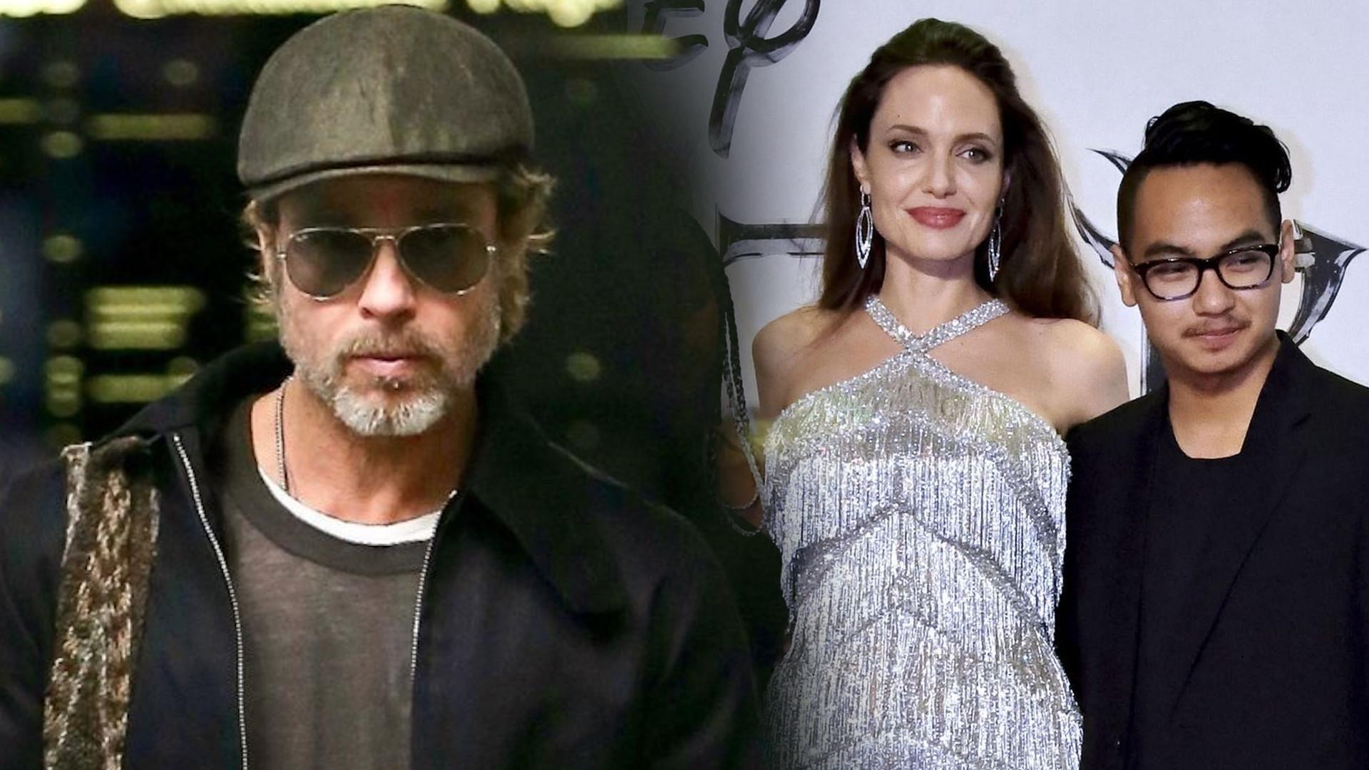 Brad Pitt nie ma ŻADNEGO kontaktu z synem Maddoxem