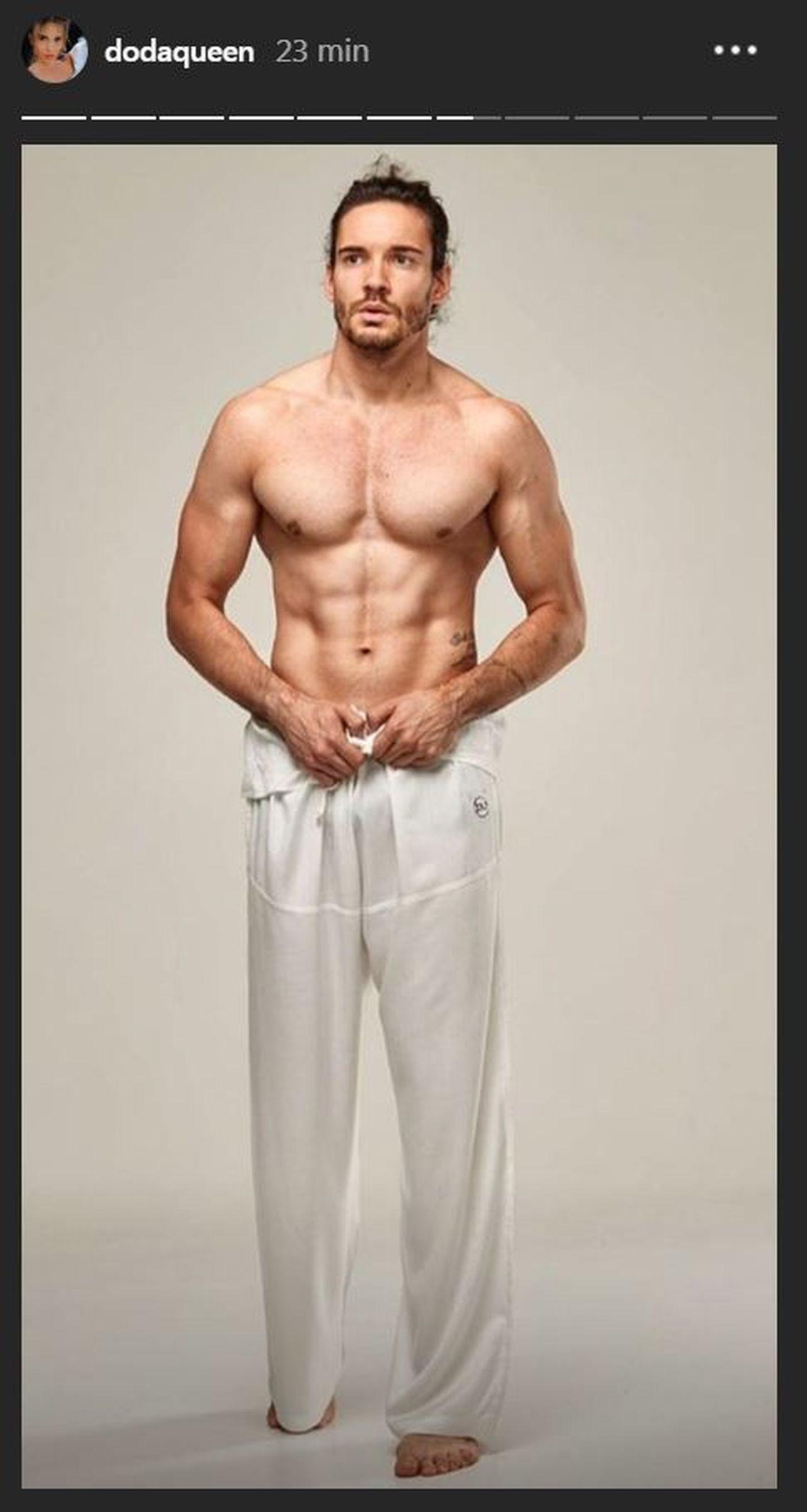 """Luca Molinari - aktor, który zagra w filmie """"Dziewczyny z Dubaju"""""""