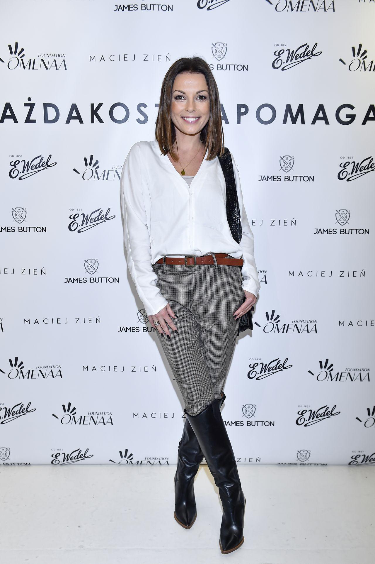 Katarzyna Glinka na ściance