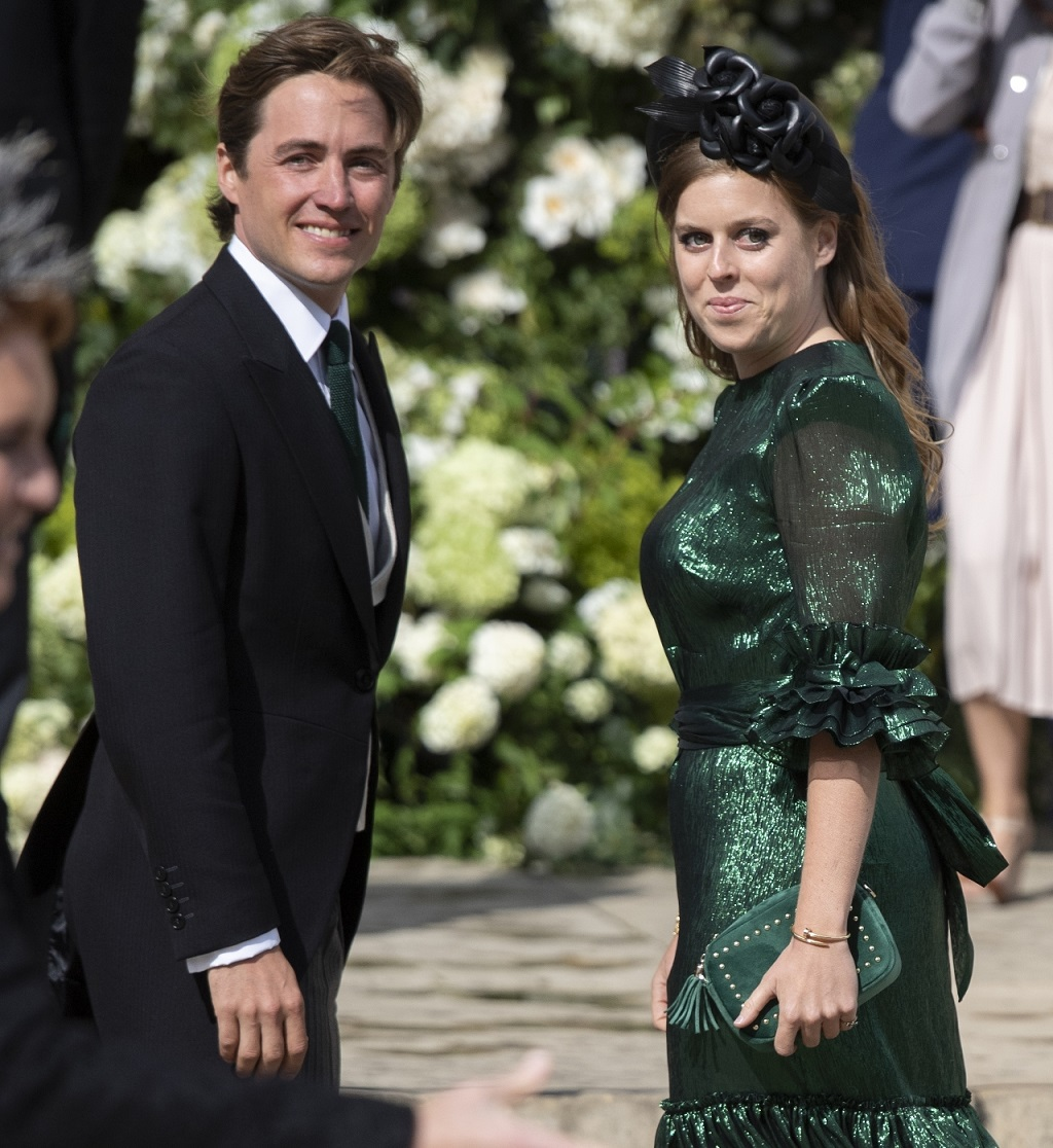 Księżniczka Beatrice i Eduardo Mapelli Mozzi.