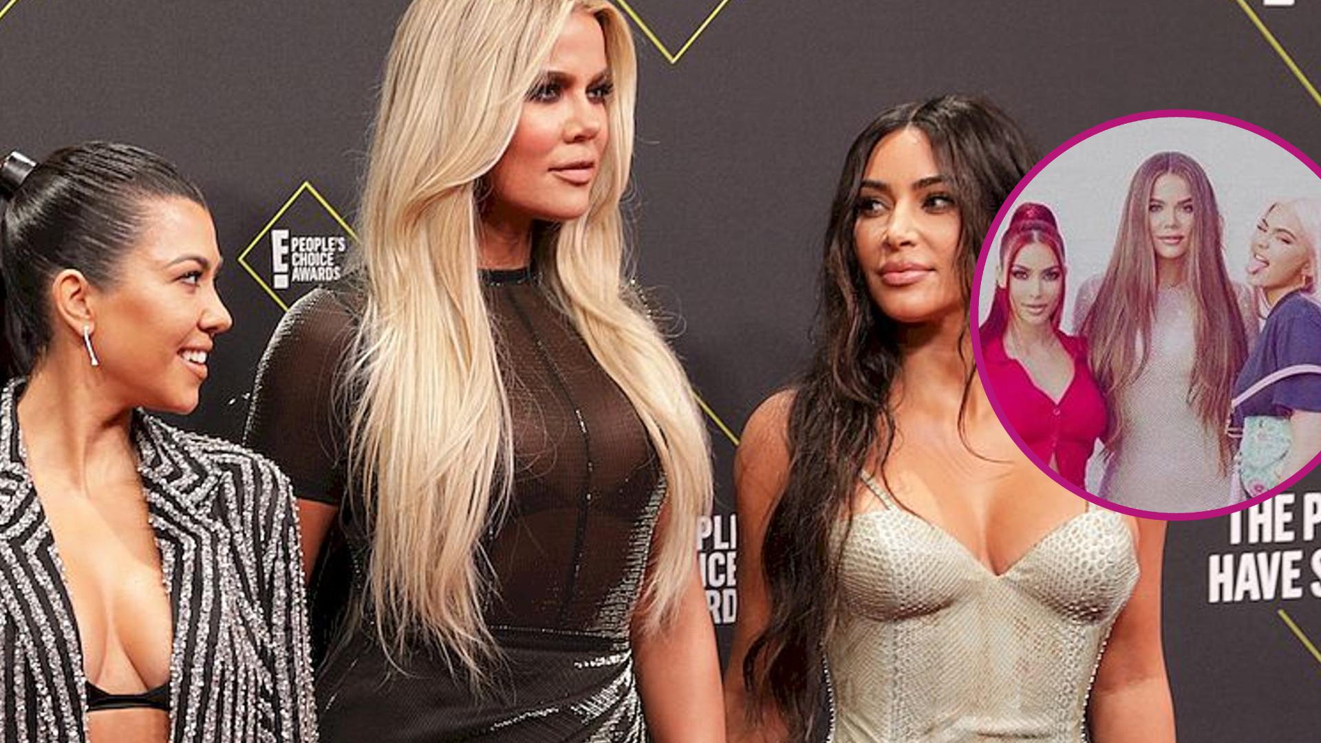 Wszystkie siostry Kardashian na jednym zdjęciu – wyglądają jak Spice Girls!