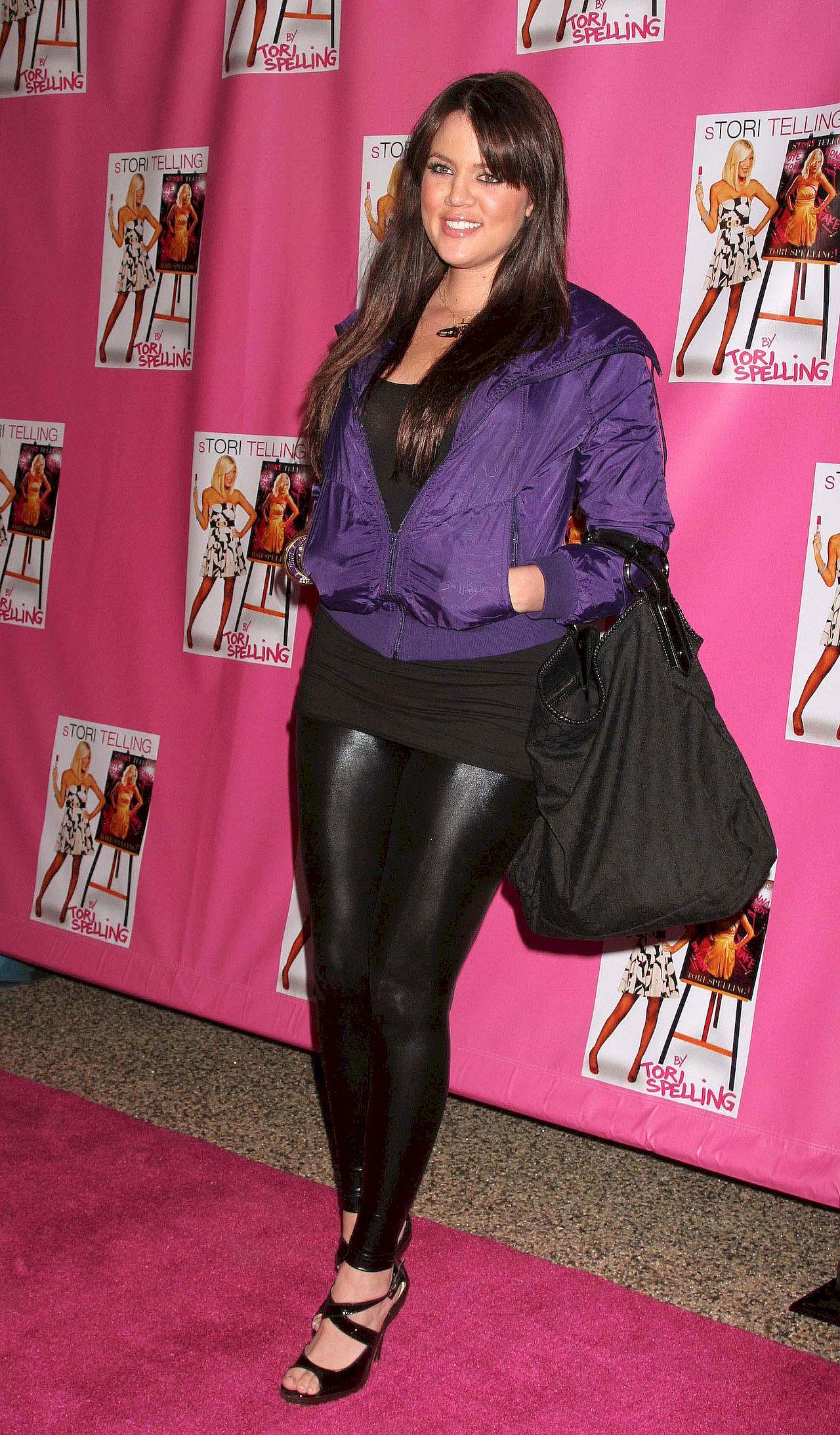 Khloe Kardashian na początku kariery