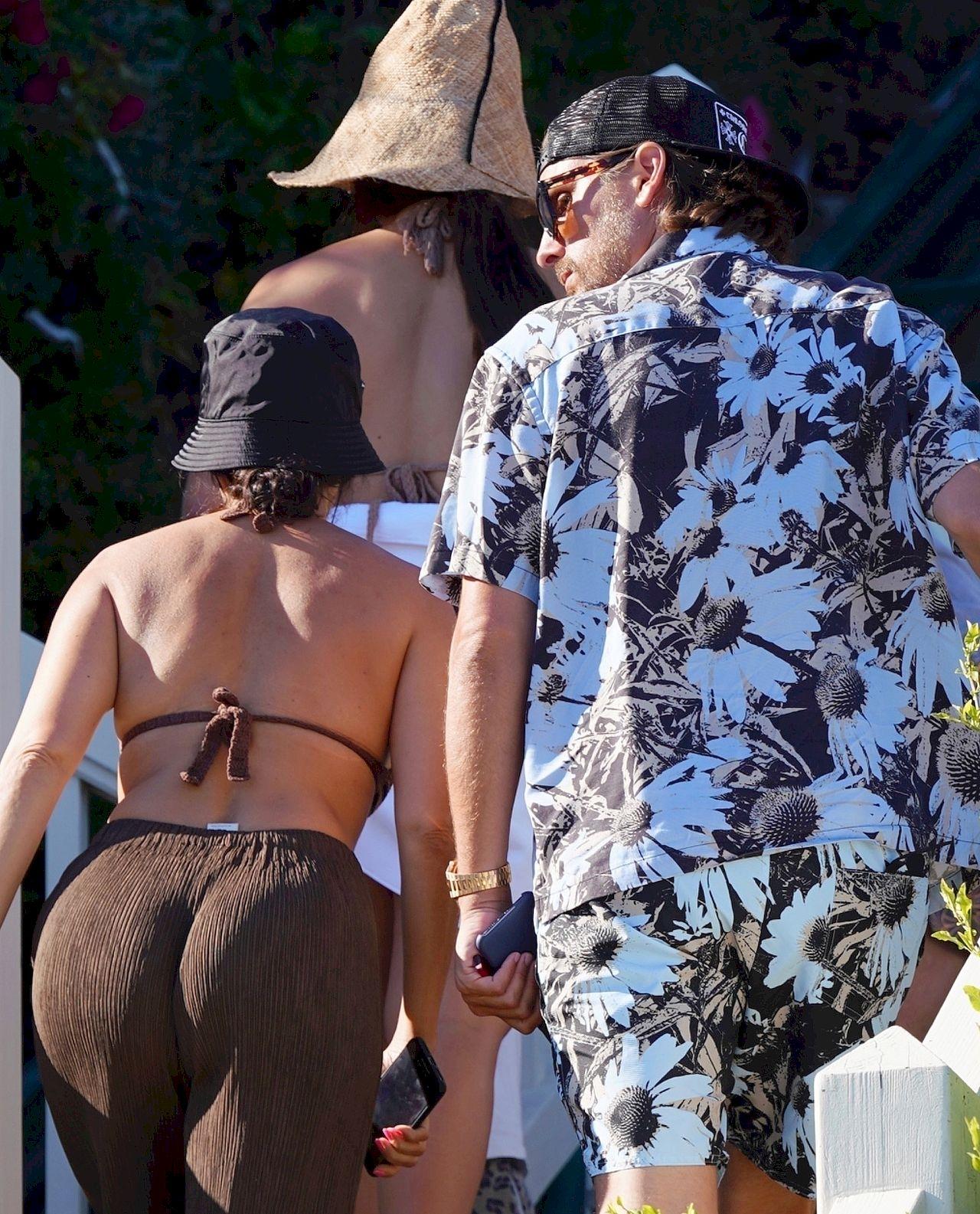 Kourtney Kardashian i Scott Disick na wspólnych wakacjach z dziećmi.