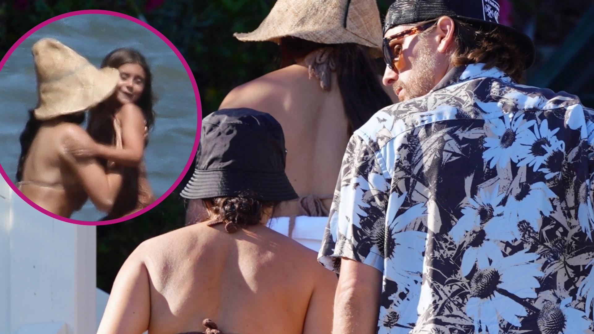 Fani OSZALEJĄ: Kourtney Kardashian na wakacjach z dziećmi i Scottem Disickiem (ZDJĘCIA)