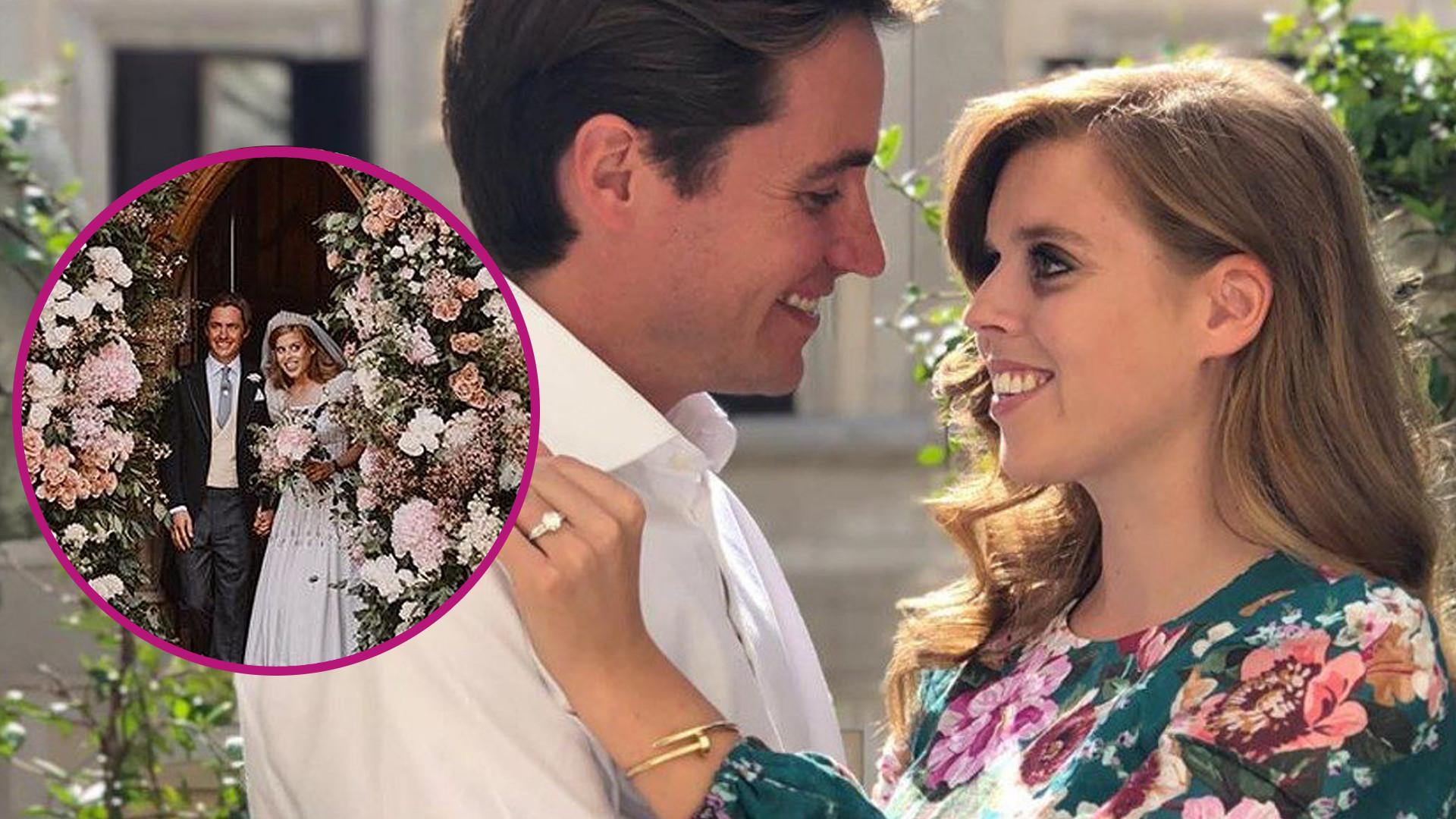 Są zdjęcia z ROYAL WEDDING – kreacja księżniczki Beatrice już została okrzyknięta jedną z najpiękniejszych w historii