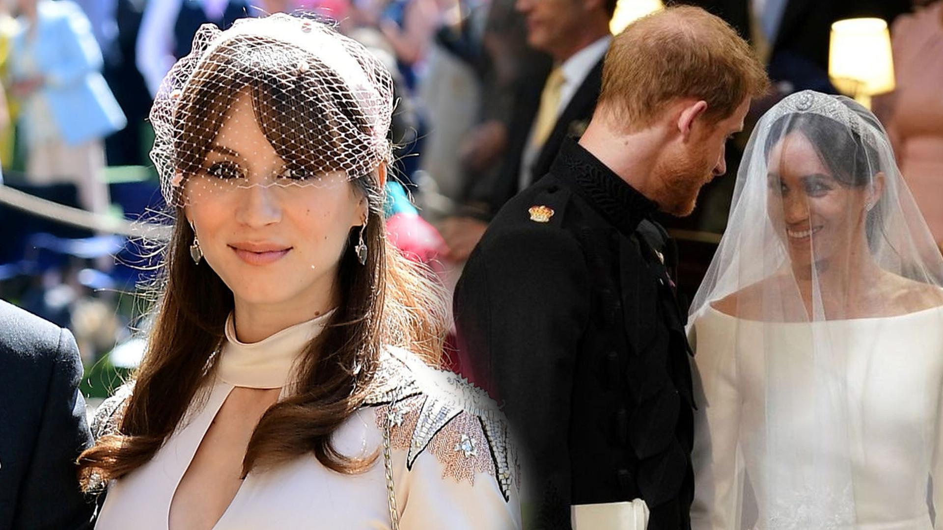 Aktorka będąca gościem na ślubie Meghan i Harry'ego ma złe wspomnienia związane z uroczystością: To był KOSZMAR