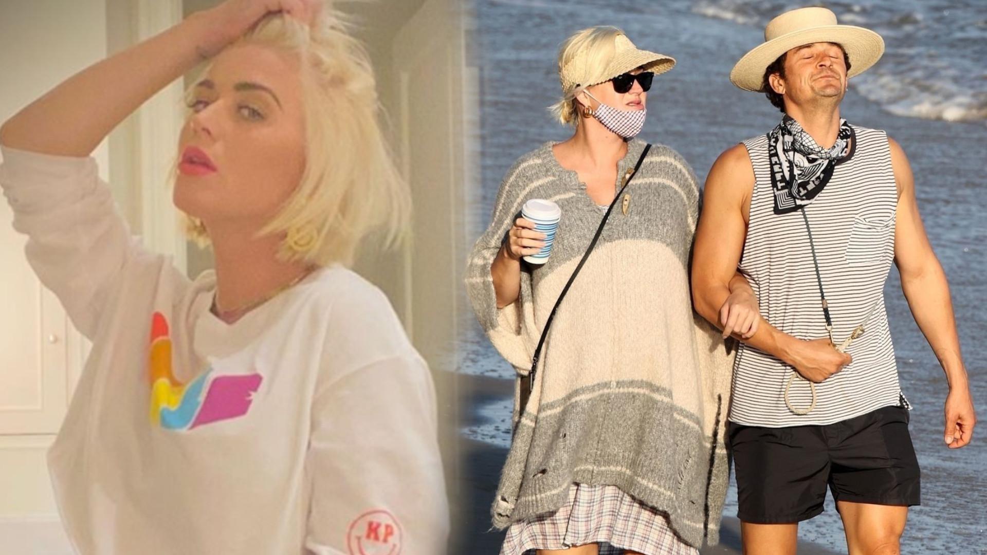 Katy Perry pokazała nagi brzuszek. Jest już taki ogromny (ZDJĘCIE)
