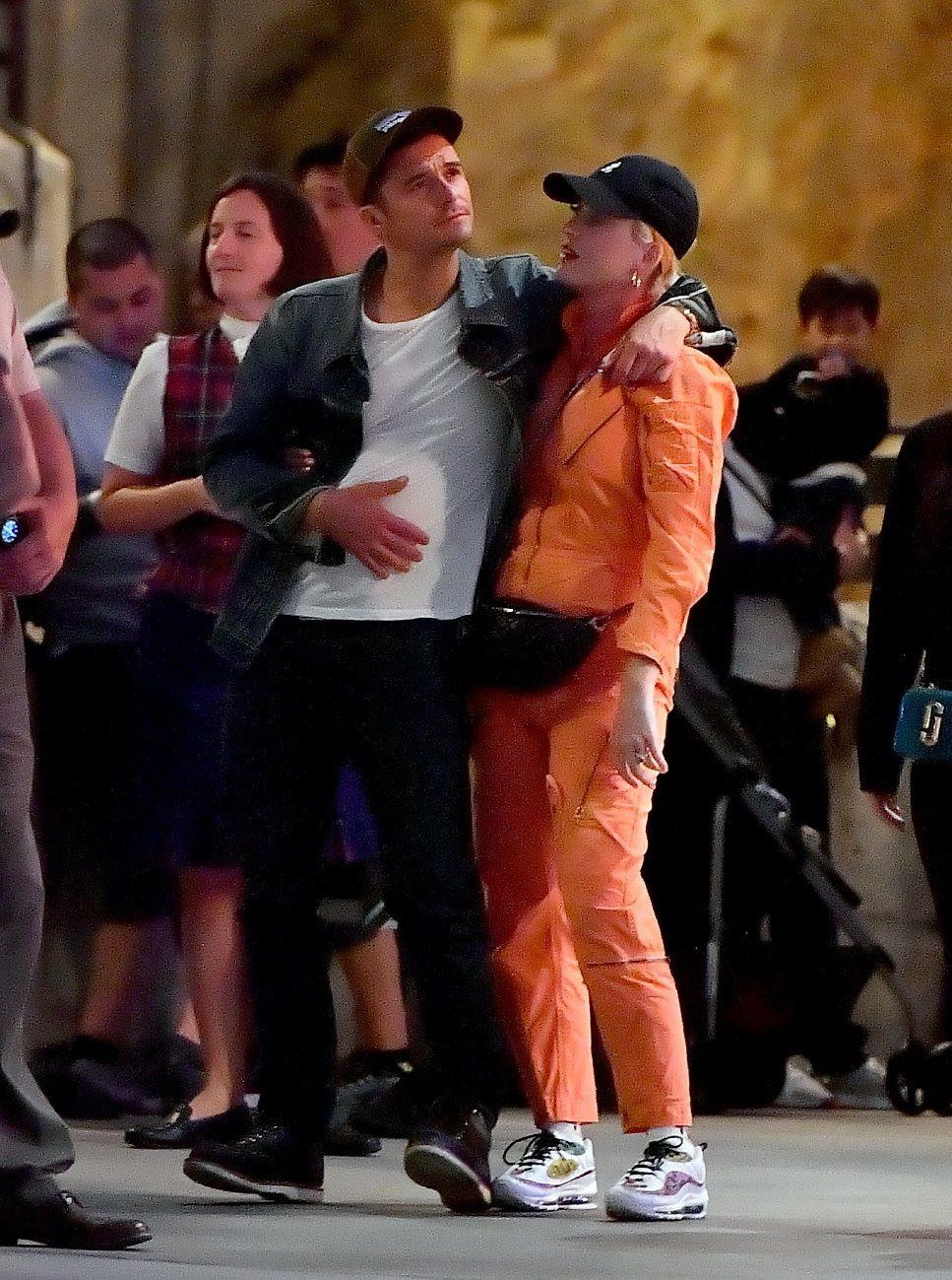 Katy Perry i Orlando Bloom. Fot. Forum, Mega Agency