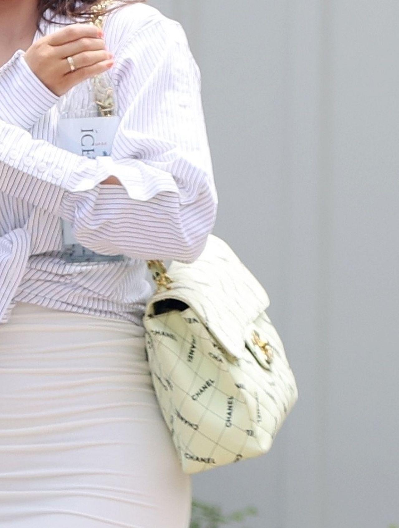 Kylie Jenner z torebką Chanel