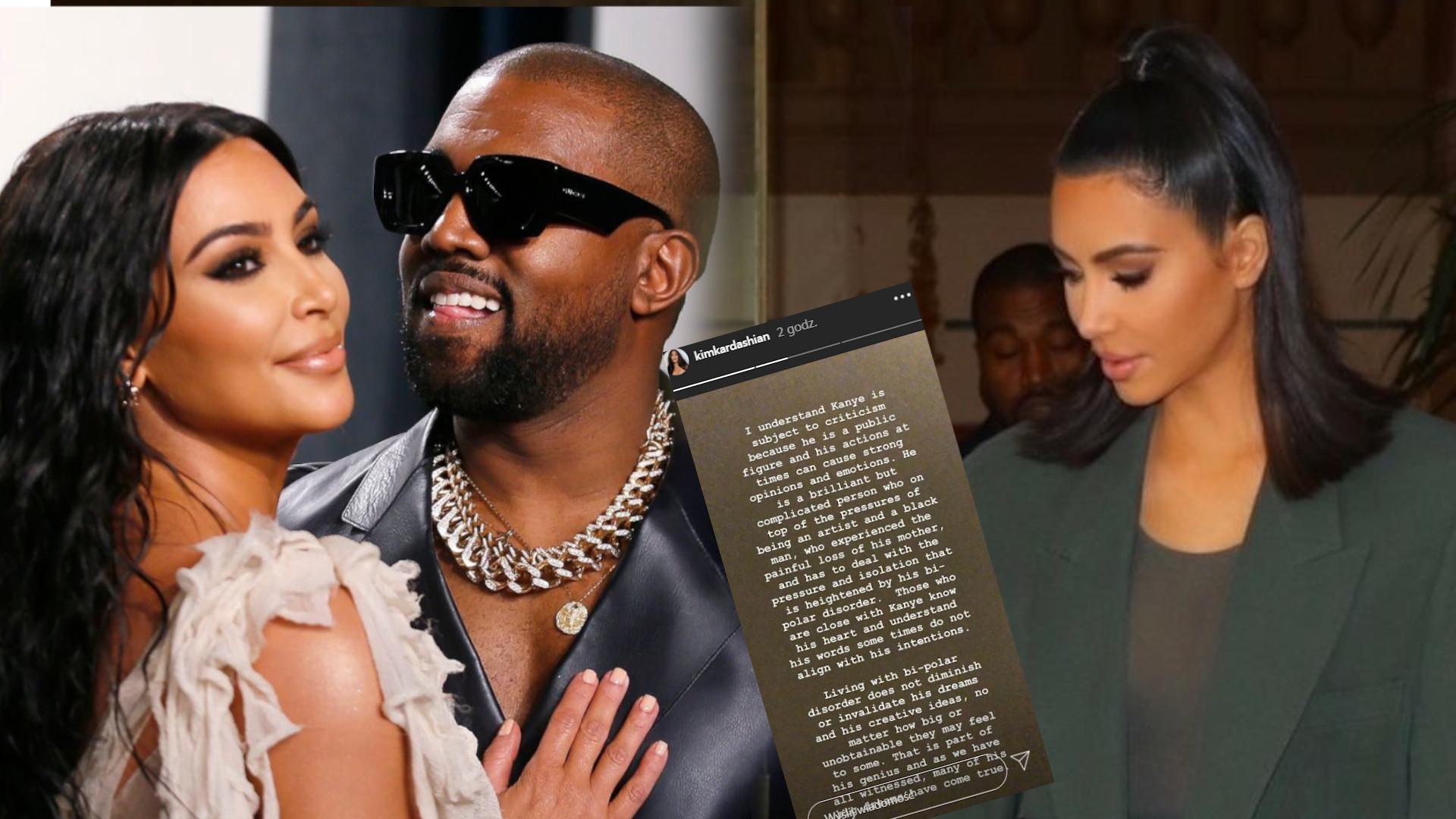 Kim Kardashian wydała OŚWIADCZENIE. Po raz pierwszy opowiedziała o chorobie męża