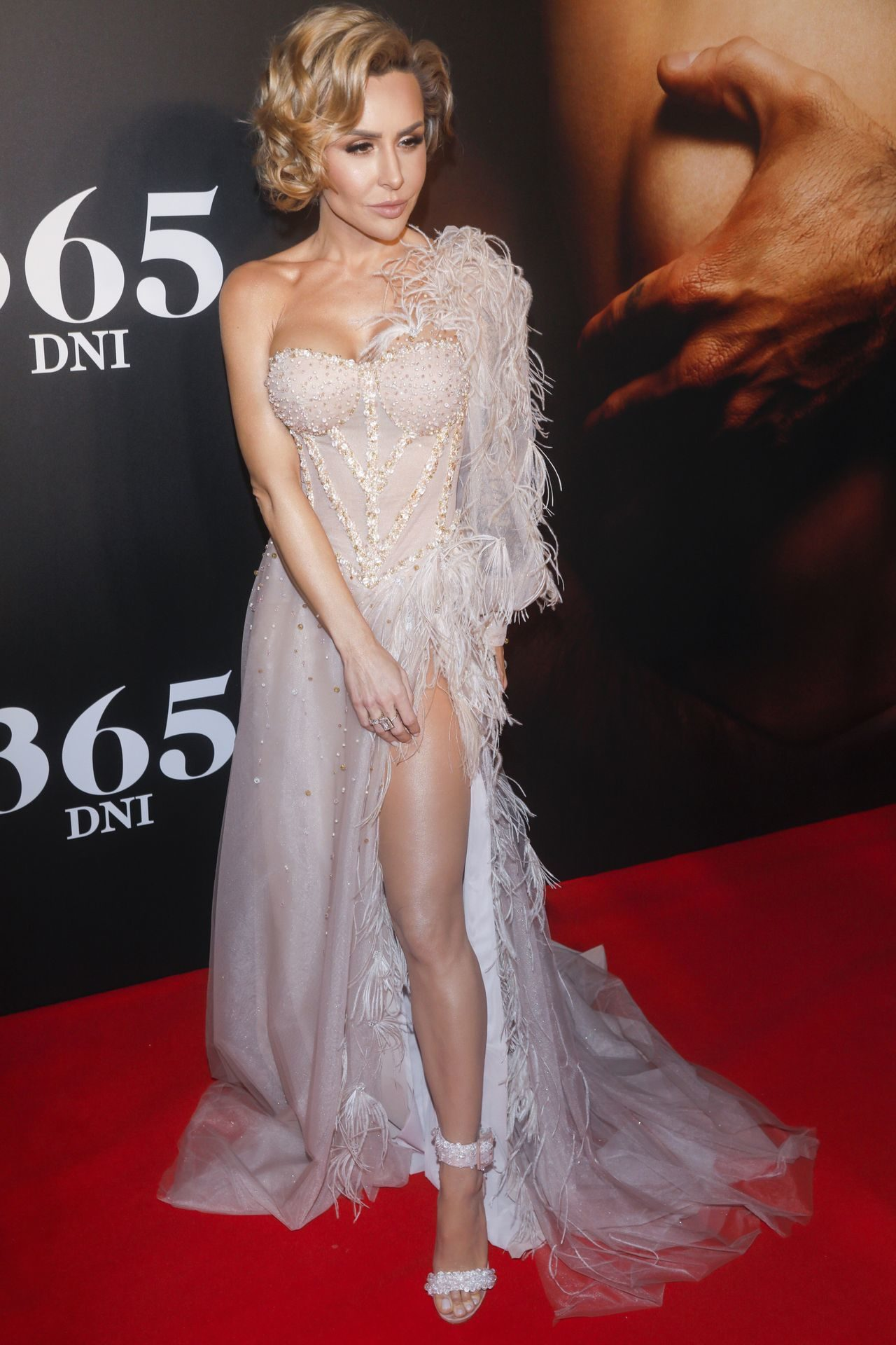 "Blanka Lipińska na premierze filmu ""365 dni"""