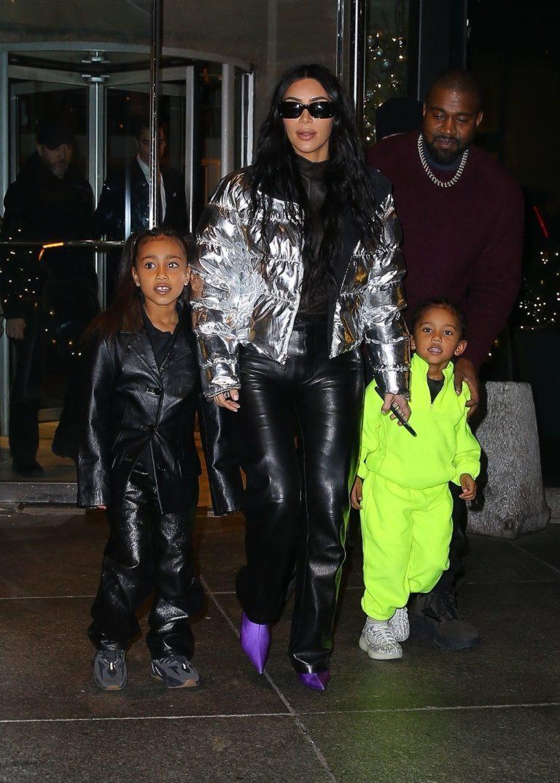 Kim Kardashian i Kanye Wes. Fot. BACKGRID / Backgrid USA / Forum