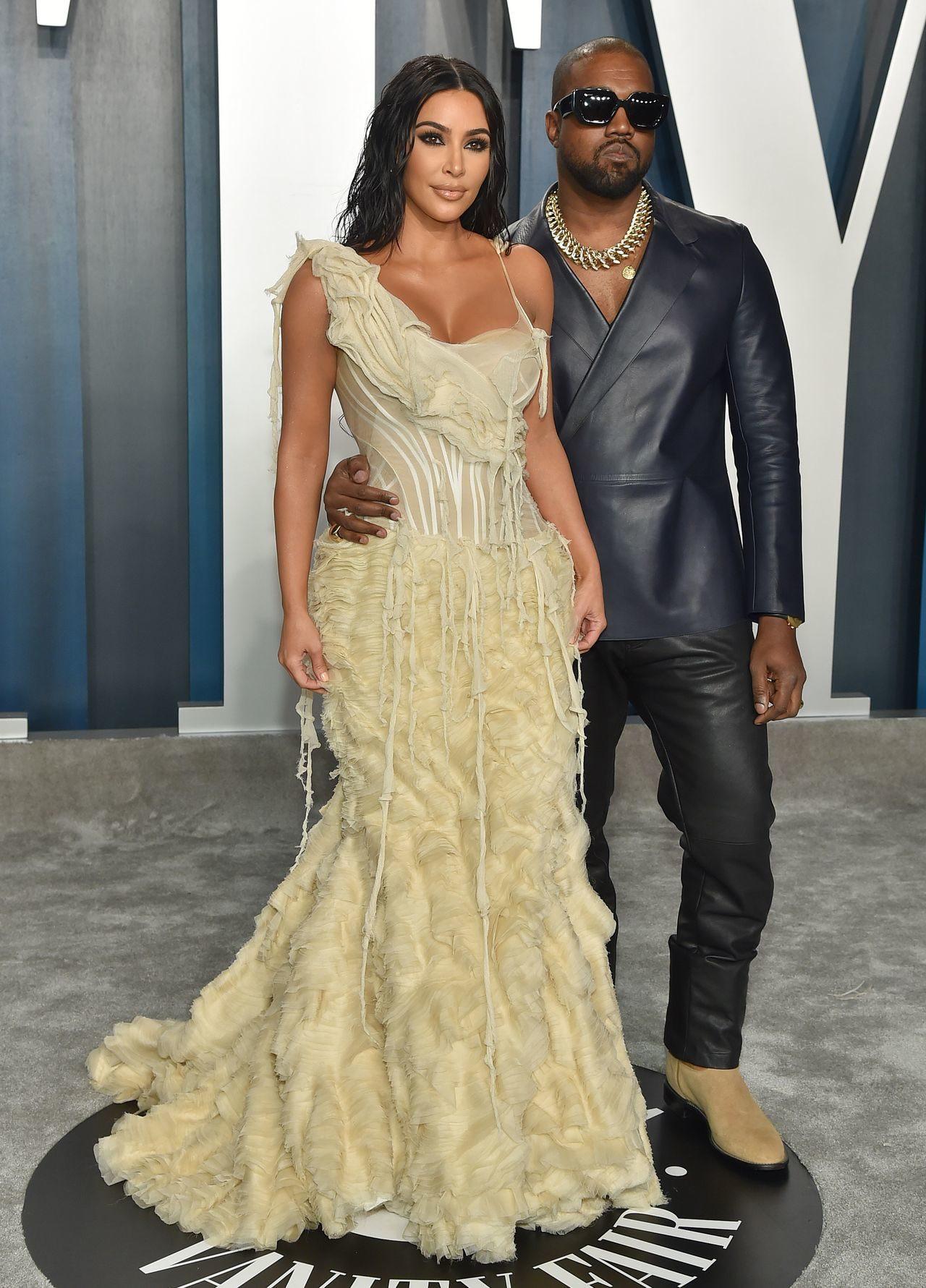 Kim Kardashian i Kanye West. Fot. MEGA / The Mega Agency / Forum