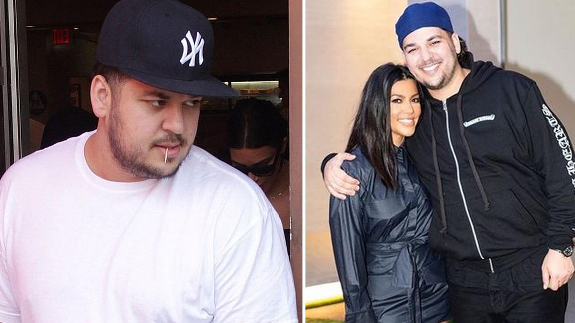Rob Kardashian już nie wstydzi się swojego ciała – na jego Instagramie pojawiło się zdjęcie BEZ KOSZULKI