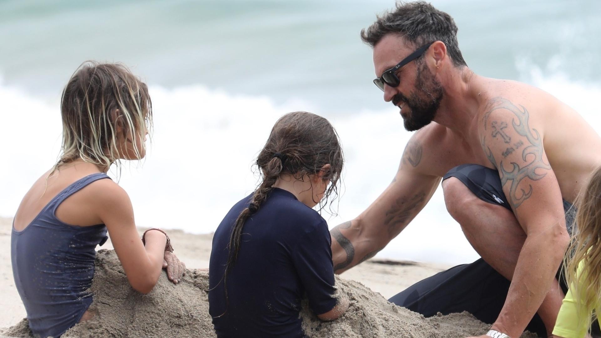 Brian Austin Green po rozstaniu z Megan Fox zajmuje się synami (ZDJĘCIA)